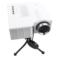 "60"" Portable Mini Hd LED Projector Cinema Theater, Support Pc Laptop Hdmi VGA Input and Sd + USB + Av Input"