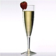 Classic 6 Oz. Unbreakable Polycarbonate Plastic Fluted Champagne Glass (each)