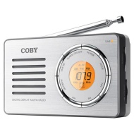 Coby Cx-50 Compact Am/fm Radio With Digital Display
