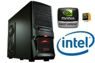 GAMING PC INTEL i7 2600 Quad Core 4x3,4GHz - 1000GB HDD - 8GB DDR3 (1333 MHz) - DVD Writer - Grafik GeForce GTX650 (1024MB DDR5-VGA-DVI-HDMI-DirectX 1