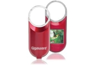 "Gigaware™ 1.5"" Digital Photo Keychain (Red)"