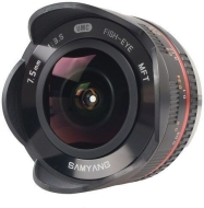 Samyang 7,5  / F 3,5 UMC FISH-EYE MFT