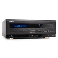 Auna Ampli HiFI Home Cinema Surround Receiver (Tuner digital,USB/SD MP3) - Noir