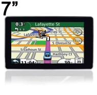 DB POWER 7 Inch Car GPS Navigation with Free UK Map of 800X480 Touch Screen Built in 4GB WinCE5.0 Support up to 8GB Micro SD Card