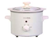 SC150 Round S/Cooker White