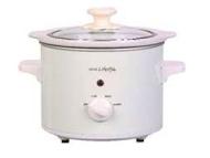 SC150 Round S/Cooker White