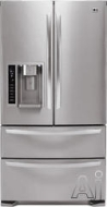 LG Freestanding Bottom Freezer Refrigerator LMX21981ST