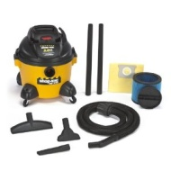 Shop-Vac SHO9650610 - Right Stuff Wet/Dry Vacuum, 8 A, 19 lbs, Yellow/Black