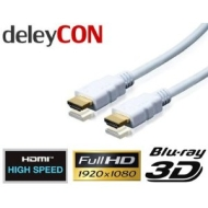 deleyCON HDMI Kabel 1.4a High Speed with Ethernet - [5m] - 3D Ready - Audio Rückkanal [5 meter]