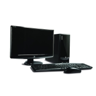 Acer EL1352 Desktop PC (AMD Athlon 170u Processor, 2GB RAM, 320GB HDD, DVD-RW, Windows 7 Home Premium) 19 inch TFT