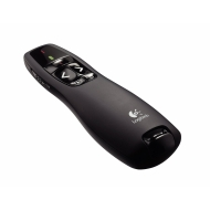 Logitech Wireless Presenter R400 - Presentation remote control - radio