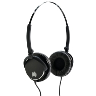 Ministry of Sound 005 Headphones - Black with Black Cable