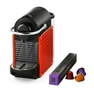 Nespresso Pixie XN300640 Coffee Machine by Krups - Red