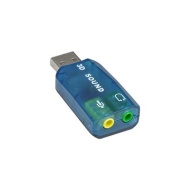 2-Channel USB 2.0 External Digital Sound Adapter