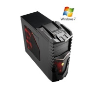 FX-6100 Gaming PC with WINDOWS 7 (AMD FX-6100 6 Core Bulldozer CPU, AMD Radeon 6670 2GB Graphics Card, 1TB Hard Drive, 8GB DDR3 Memory, HDMI 1080p, US