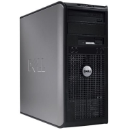 Dell Optiplex 745 Tower PENTIUM DUAL CORE 3.4GHZ 4GB 750GB HDD Windows 7 PRO 64 BIT WIFI, DVD-BURNER, Dual Monitor Hook Up