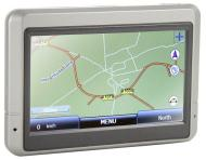 "Navigo GPS Sat Nav UK Map - 4.3"" Widescreen - Full Postcode Search - MP3 & MP4 V2 Version"