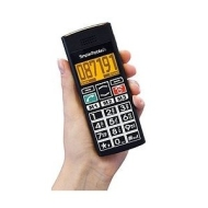 Simple Black Big Button Mobile Phone