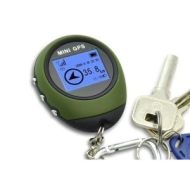 ChannelGoods Portable Mini GPS with Keychain for Outdoor Sport Navigation Tracker Location Finder + free Gift