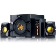 Genius GX-Gaming SW-G2.1 3000 with Two Input Jacks for PC/TV/DVD/Game Devices
