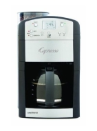 Jura - CoffeeTEAM GS 10-Cup Coffeemaker - Silver/Black JURA-46405