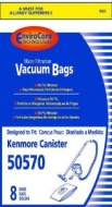 Kenmore 50570 Micro Filtration Canister Bags 8 in a pack
