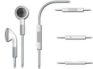 Écouteurs Apple avec télécommande & micro pour Iphone 3G/3GS