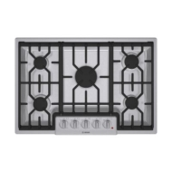 "Bosch 800 series 36"" five burner cooktop"