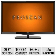 Proscan PLDED3957A 39 Class LED HDTV - 1080p 1920 x 1080 16:9 60Hz 1000:1 8ms 2x HDMI VGA USB New