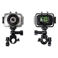 Emerson HD Action Cam with Waterproof Case and Bike Mount