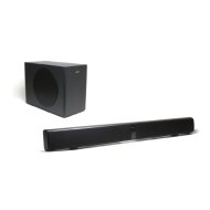 Energy Power Bar Elite Soundbar with Wireless Subwoofer (Black Satin)