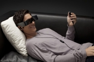 Epson Moverio BT-100 video glasses pictures and hands-on - Pocket-lint