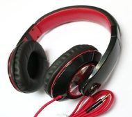 black DJ Over the head Stereo Earphone Headphone handsfree for apple iphone 4 4s 5 samsung Galaxy s3 S 3 SIII lte note note II I9300