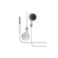 iBox - Stereo Earphones For for All iPod, ZEN, Zune, and all other MP3 MP4 players - White -