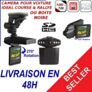 CAMERA HD DVR EMBARQUEE SPORT VOITURE VISION NOCTURNE - YONIS