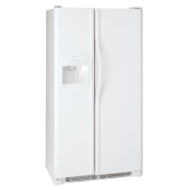 Frigidaire Professional 22.6 cu. ft. Side-by-Side Refrigerator - Stainless Steel