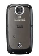GE DVX Waterproof/Shockproof 1080P Pocket Video Camera (Graphite Gray) with 2GB SD Card