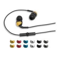 Scosche Increased Dynamic Range Earphones with TapLINE Control Technology (Black).