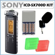 Sony ICD-SX700D - Digital voice recorder - flash 1 GB