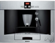 """Bosch TKN68E75UC Stainless Steel 24\"" Benevuto Non Plumbed Built In Cofee Machine - TKN68E75UC"""