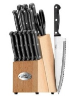 Ginsu 04817 International Traditions 14-Piece Knife Set with Block, Natural