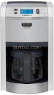 Krups KM8105 12-Cup Die-Cast Programmable Coffeemaker