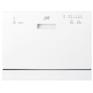 17.24 in. Portable Dishwasher in White