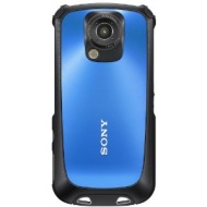 Sony Bloggie Sport Mobile HD Snap Camera - Blue (5.1MP, 4x Digital Zoom) 2.7 inch Touchscreen