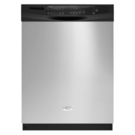 "Whirlpool GU2800XTVB - built-in - 24"" - black"