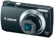 Canon PowerShot 16MP/5X Zoom Digital Camera Black