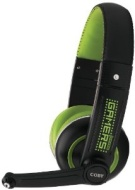Coby Cv480 Jammerz Gamers Vibration Multimedia Usb Over-ear Headphones