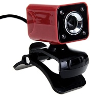 Jeway Jw-5324 8.0Mp Hd Usb Clip-On Digital Pc / Laptop Webcam W/ Microphone