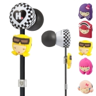 Monster  Harajuku Lovers Wicked Style In-Ear Headphones Featuring Interchangeable Faces