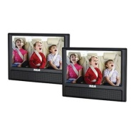 "RCA 9"" Dual Screen Mobile DVD Player"